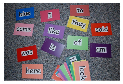 plain sight words compared to SnapWords Sight Words with pictures and movements