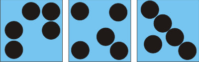 Teaching math with dot cards