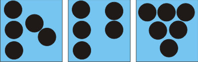 Dot card math games