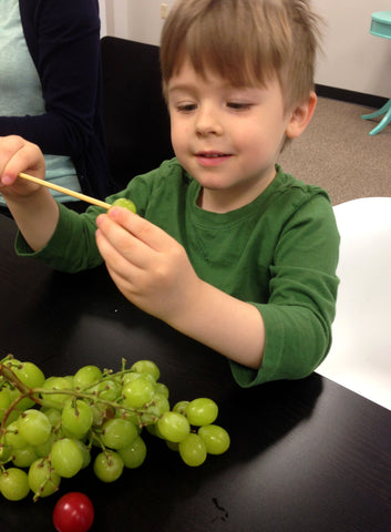 Engage your child in making healthy snacks