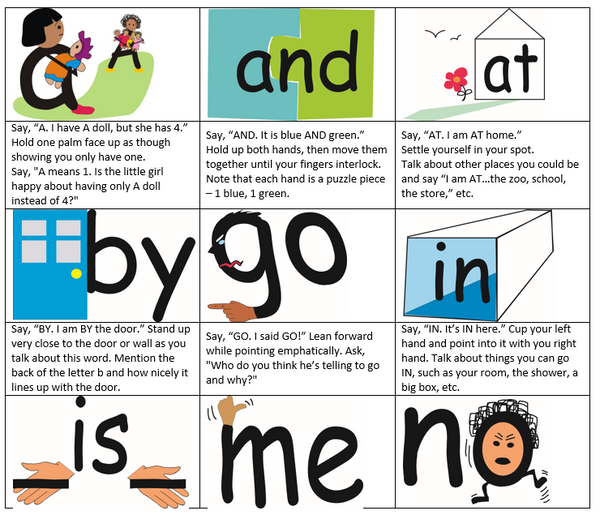 Steps for Teaching Right-Brained Learners to Read Sight Words