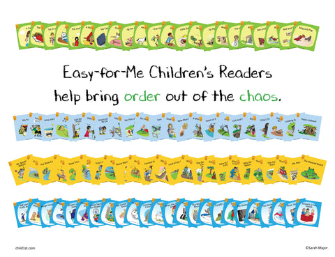 Easy-for-Me™ Children's Readers Set C