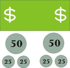Counting money with a visual learner