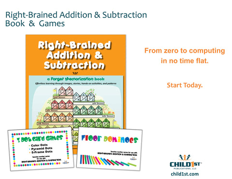 Right-Brained Addition & Subtraction