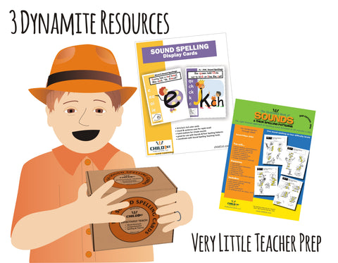 Right-Brained Phonics & Spelling Kit
