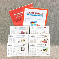 306 SnapWords® Pocket Chart Cards Kit