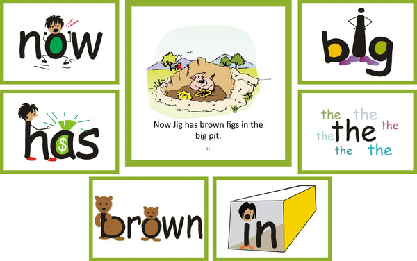 Easy-for-Me Children's Readers provide reading practice for SnapWords