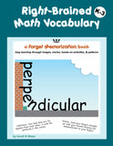 Right-Brained Math Vocabulary