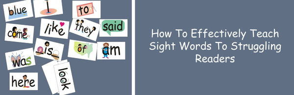 SnapWords Sight Words with pictures and movements How to effectively teach sight words to struggling readers
