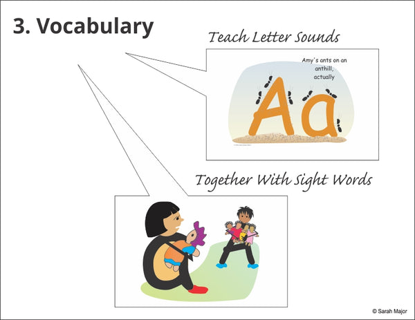 Easy-for-Me teaches vocabulary