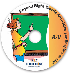 Beyond Sight Words Activities A-V CD