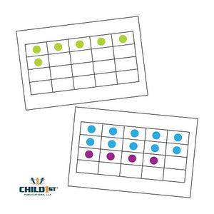 Right-Brained Addition & Subtraction Dot Cards