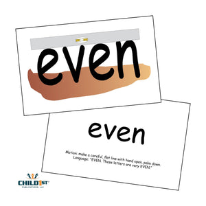 SnapWords® List D Teaching Cards Download