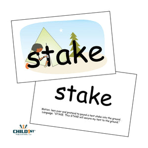 SnapWords® Nouns List 1 Teaching Cards Download