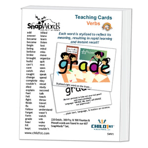 SnapWords® Verbs Teaching Cards Download