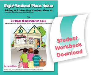 Right-Brained Place Value