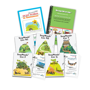 301 SnapWords® Teaching Cards Download