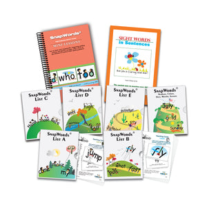 306 SnapWords® Teaching Cards Download