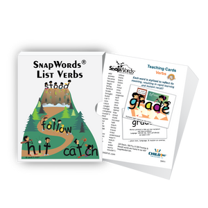 SnapWords® Verbs Teaching Cards