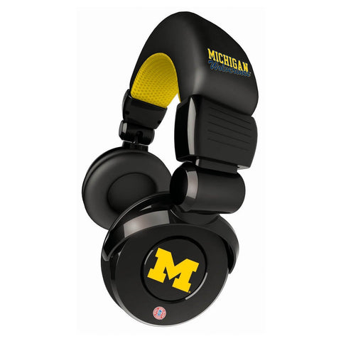 Michigan Wolverines DJ Headphones