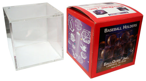 Ball Qube Baseball Display Case