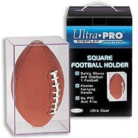 Square Football Holder- Ultra Pro