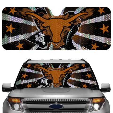 Texas Longhorns Auto Sun Shade