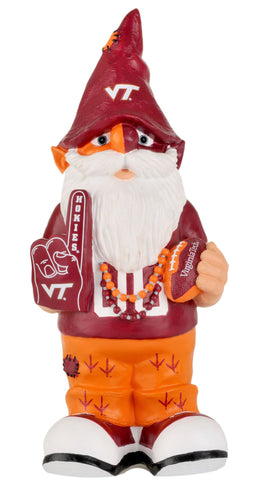 "Virginia Tech Hokies Garden Gnome - 11"" Thematic"