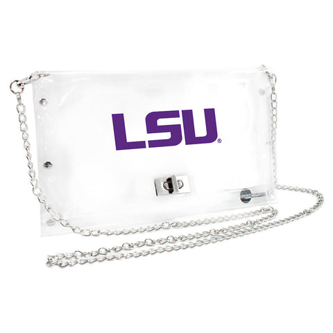 LSU Tigers NCAA Clear Envelope Purse