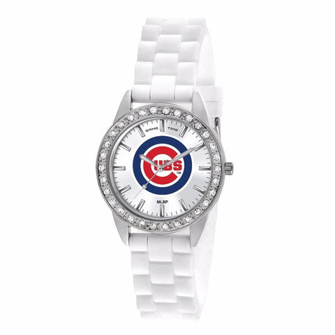Chicago Cubs Ladies Frost Series Watch