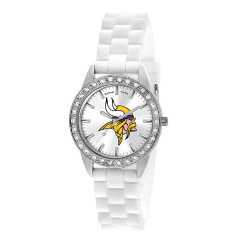 Minnesota Vikings Ladies Frost Series Watch
