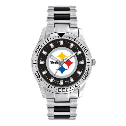 Pittsburgh Steelers Mens Heavy Hitter Series Watch
