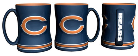Relief Sculpted Mug-Chicago Bears