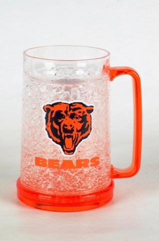 16Oz Crystal Freezer Mug NFL - Chicago Bears