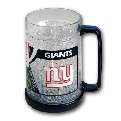 16Oz Crystal Freezer Mug NFL - New York Giants