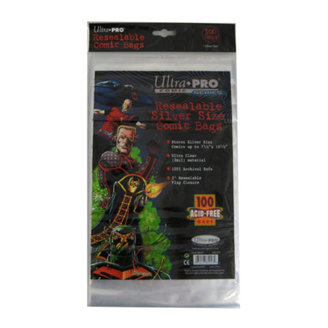 Image Guard Resealable Silver Size Comic Bags