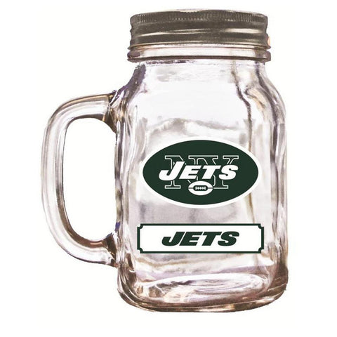 Duckhouse 16 Ounce Mason Jar - New York Jets