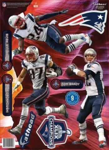NFL New England Patriots Super Bowl XLIX Champs Team Pack Retail 6-Pack
