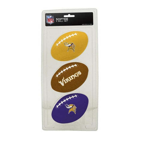 k2 3 Ball Set Minnesota Vikings