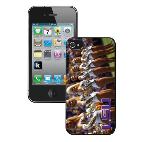Ncaa Iphone 4 Cheerleader Case - Lsu Fighting Tigers