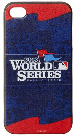 MLB World Series Fall Classic 2013 Banners Iphone 44S Case - Boston Red Sox