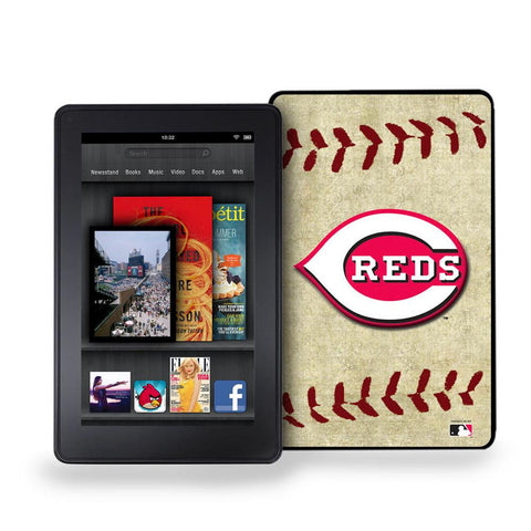 Kindle Fire Vintage Baseball Cover - Cincinnati Reds