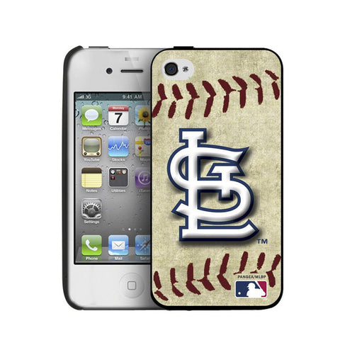 Iphone 44S Hard Cover Case Vintage Edition - St. Louis Cardinals