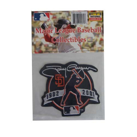 MLB Logo Patch - Hall of Fame - Tony Gwynn