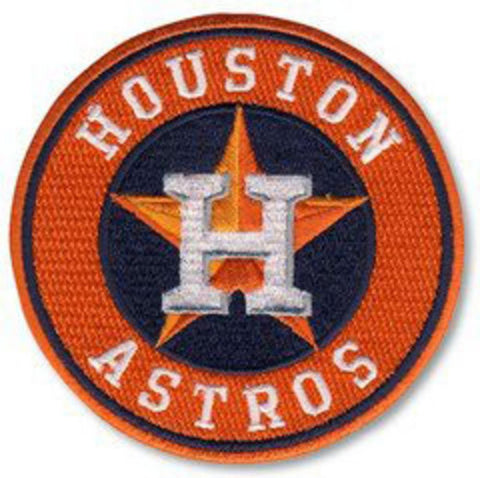 Houston Astros Team Logo Home Jersey Sleeve Patch (2013)