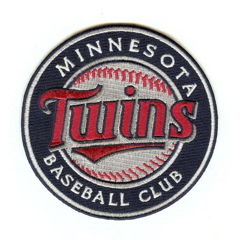MLB Minnesota Twins Embroidered Team Logo Collectible Patch