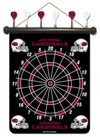 NFL Arizona Cardinals Magnetic Dart Board Set