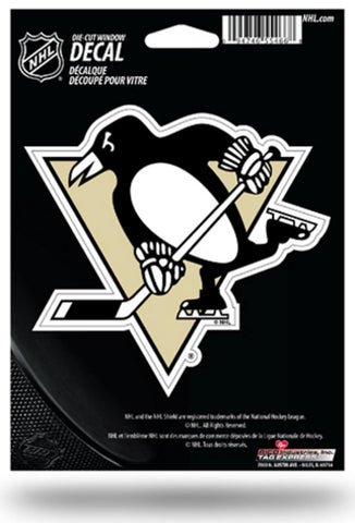 NHL Pittsburgh Penguins 5x6 Die-Cut Decal