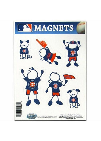 Family Magnets - Chicago Cubs