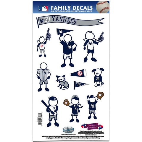 MLB New York Yankees Family Decal Set